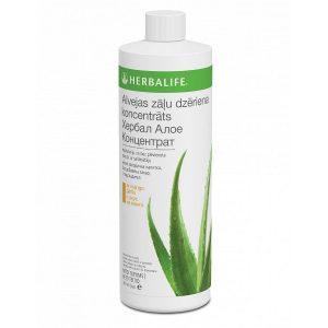 Herbalife mangų skonio augalinis alavijų koncentratas Herbal Aloe