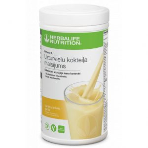 Herbalife Formula 1 Baltyminis kokteilis Bananinio Kremo