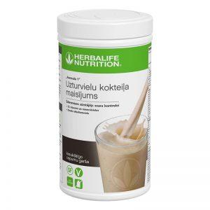 Herbalife Baltyminis kokteilis Formula 1, traškių sausainių skonio