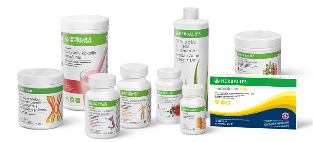 Herbalife pažangioji svorio mažinimo programa
